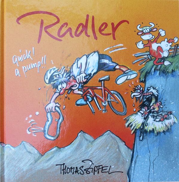 Cartoon-Buch Thomas Zipfel
